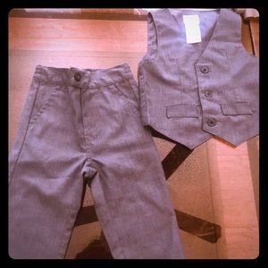 Grey suit for 18 month old